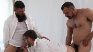 MissionaryBoys.com - Wet Brother Eyring swallow on the couch