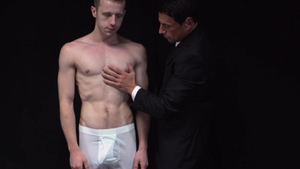 MissionaryBoys - Young Elder Holland feels up to undressing
