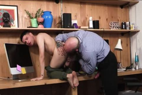 enormous cock hairy StepDad nails His Stepson
