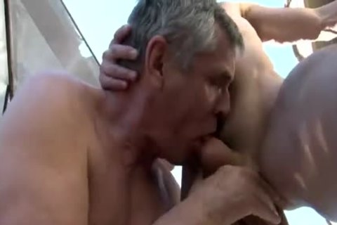 threesome With Two older guys Daddy 1
