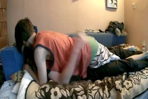 Two twinks Are Having joy In Bedroom And one as well as the other sperm
