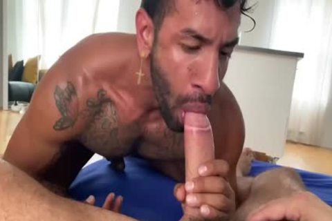 Hung Daddy bonks His lad