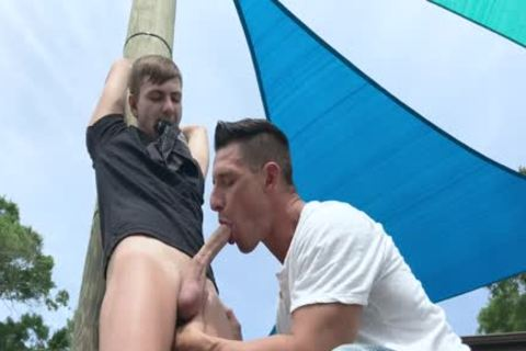 Nephew receives tied Up And nailed By Step-Uncle