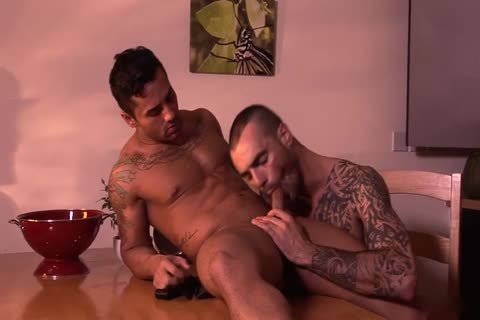 Bruno Bernal And Issac Jones Hung Suited And lewd
