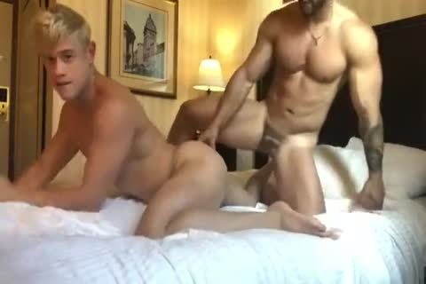 lustful blonde Bottom And Macho Top