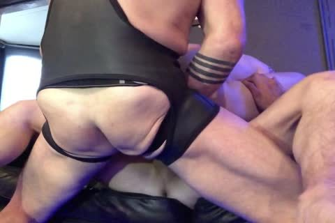 obscene raw 3way With Double ass Part 2