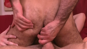IconMale - Hairy Adam Russo and Calvin Banks anal sex