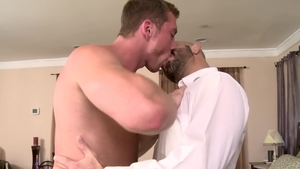 IconMale.com: Hairy mature Adam Russo nailed by Connor Maguire