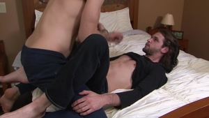 IconMale.com - Boyfriend Duncan Black caught ass fucking