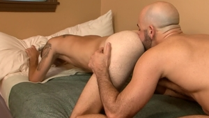 IconMale: Hairy Bryce Action among Adam Russo reality rimjob