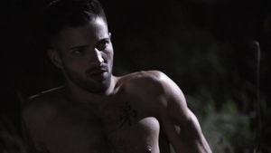 IconMale.com - Nick Fitt throat fuck outdoors