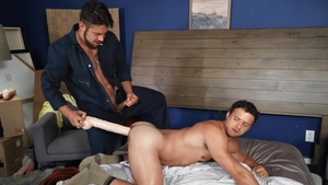 DrillMyHole.com - Nate Grimes playing with toys