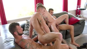 NextDoorBuddies - Gay Johnny Hill bareback orgy