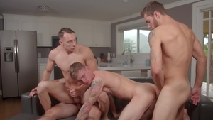 NextDoorBuddies: Gay Carter Woods in uniform fucked in the ass