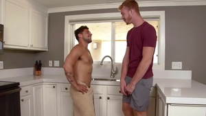 Next Door Raw: European Dacotah Red is pierced brunette