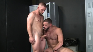 ExtraBigDicks - Athletic Ricky Larkin jerking big cock