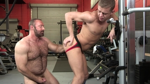 Dylan Lucas: Brad Kalvo and Ian Levine condom rimming
