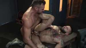 Raging Stallion: Rikk York being pounded by Manuel Skye