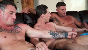 Falcon Studios: Inked Roman Todd together with Dane Stewart