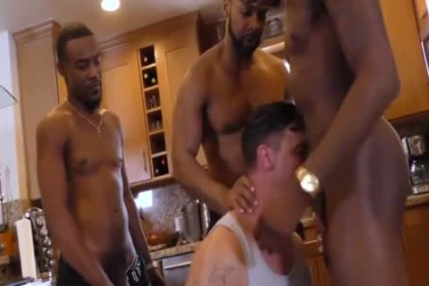 Wife suggests Hubbys backdoor For A Bbc gangbang