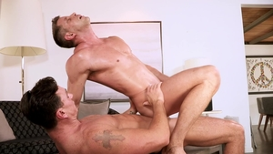 Falcon Studios - Cade Maddox beside thick Johnny Ford