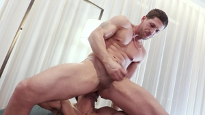 Next Door Homemade - European Roman Todd kissing each other