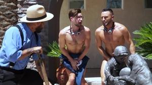 Falcon Studios: Link Parker pounded by latino Brock Banks