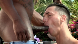 Hot House - Max Konnor fucked by Tristan Hunter in the pool